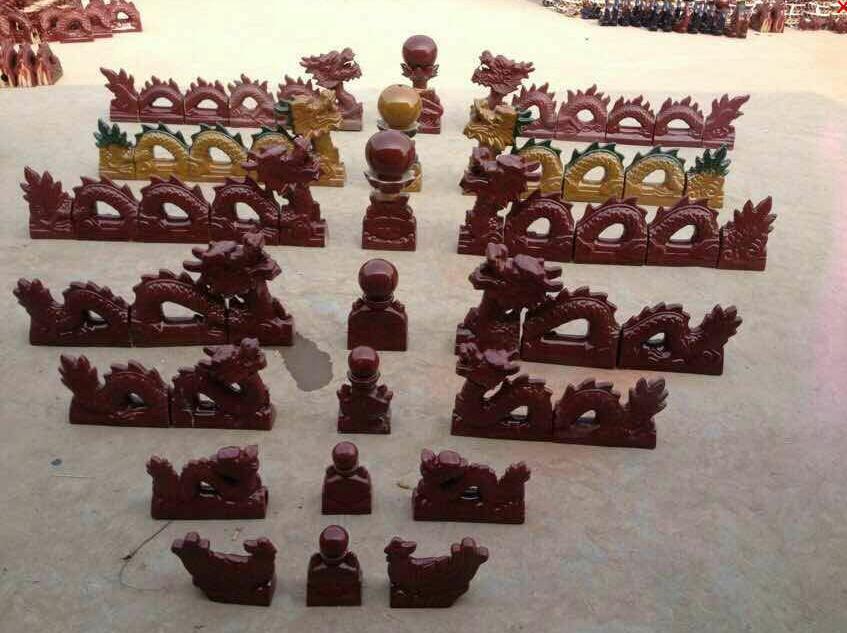 红枫陶瓷滴水古建瓦琉璃瓦 琉璃瓦价格颜色可选厂家直销