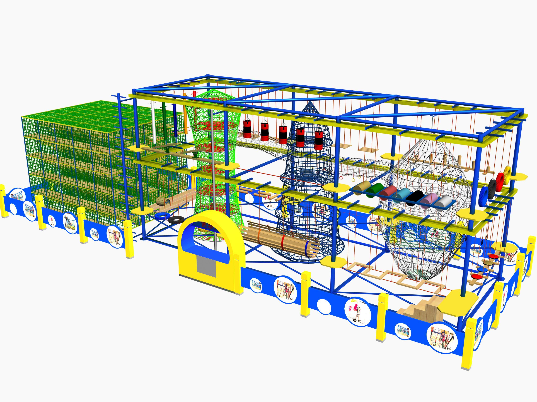 非帆游乐儿童游乐场设备室内拓展儿童乐园生产厂家