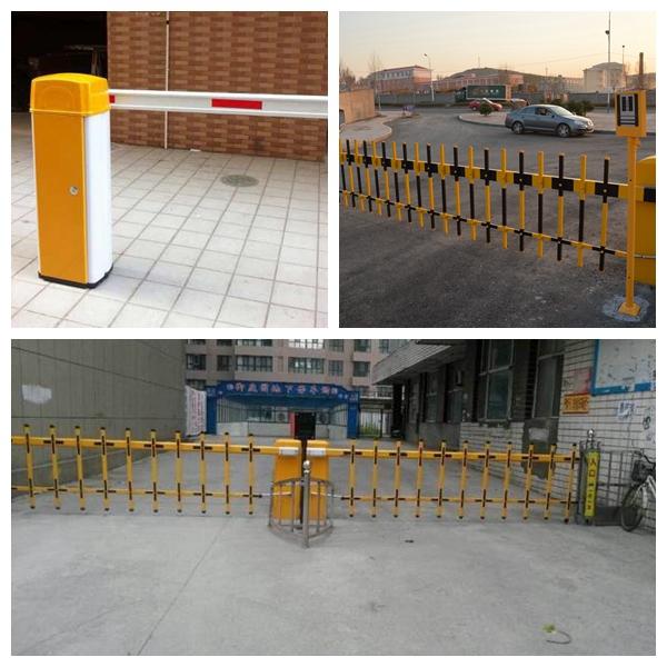 小区智能道闸小区大门自动门卫升降杆电动起落栏杆遥控停车场管理系统