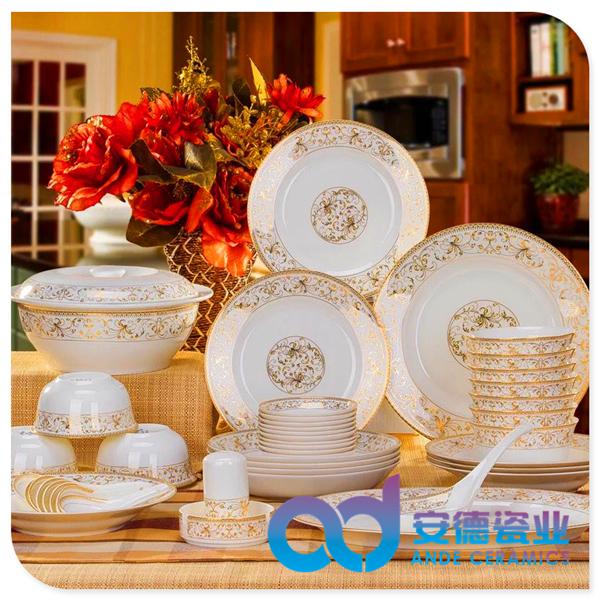 陶瓷餐具高档,高温,白瓷,骨瓷,厂家定制批发