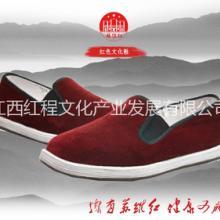 红军布鞋,传统民族风,老北京布鞋 苏维红灯芯绒红军鞋布鞋 苏维红红色灯芯绒红军鞋布鞋