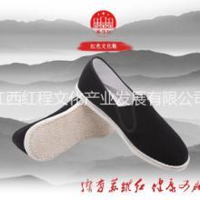 苏维红相巾面料布鞋,八路军新四军红军布鞋,传统民族风,老北京布鞋