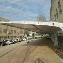 上海市停车场车棚工程定制膜结构车棚供应商