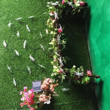 蜻蜓灯串厂家直销亚马逊市场LED太阳能蜻蜓饰品装饰灯串 蜻蜓灯串