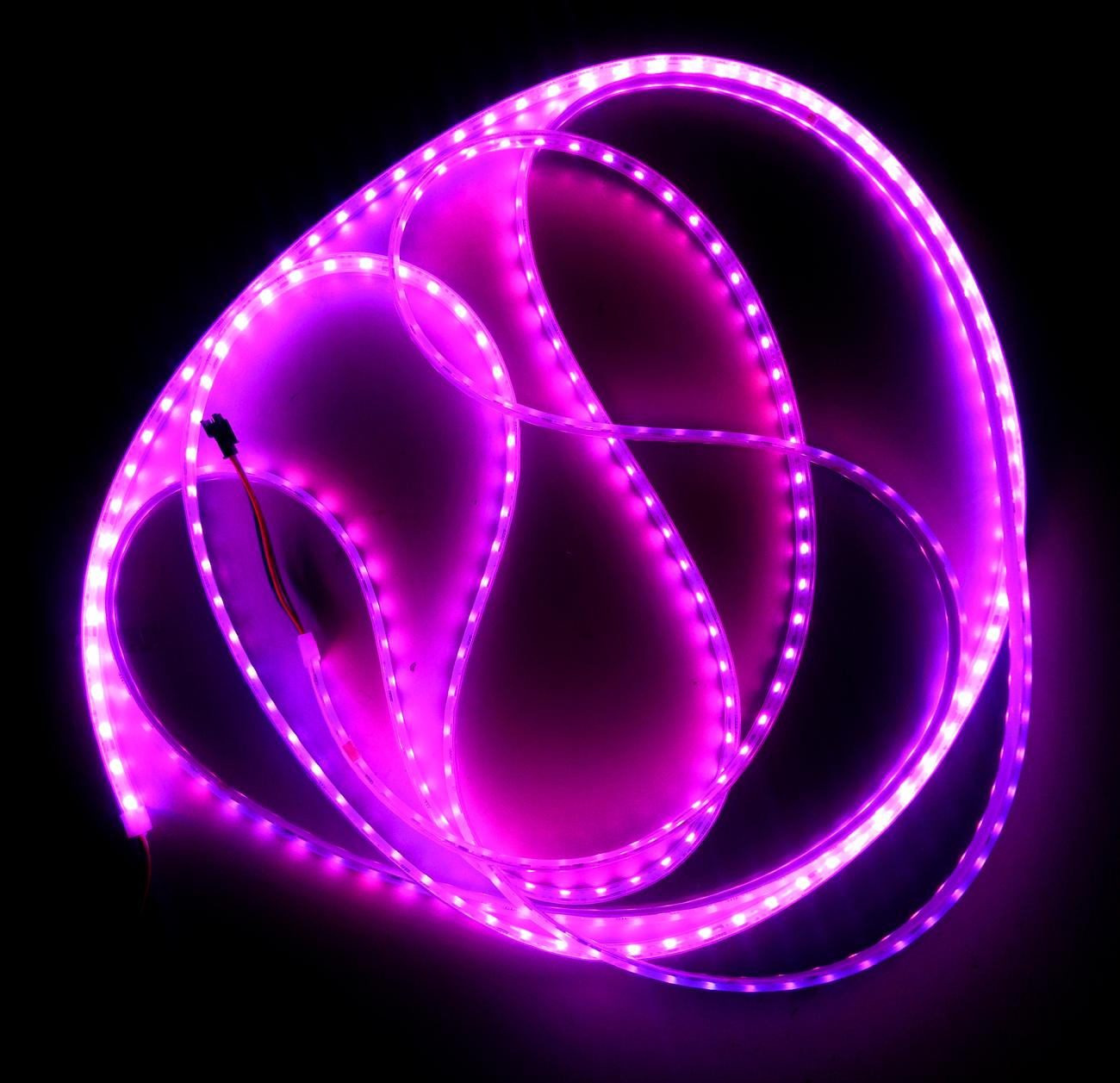 LED灯带 灯条 全彩灯带 防水低压12V 全彩灯带 50灯 厂家直销