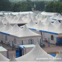 厂家直销 白色欧式尖顶帐篷 吊顶篷车展婚庆婚礼专用帐篷订做