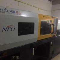 韩国二手注塑机宇进注塑机55T高精密高速机,专业生产PC,手机保护套、边框,镜片