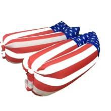 懒人沙发美国国旗英国国旗充气沙发批发
