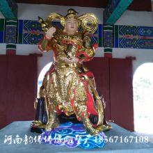 价格尺寸雕塑厂订做 韦陀  佛像 大力神 神像