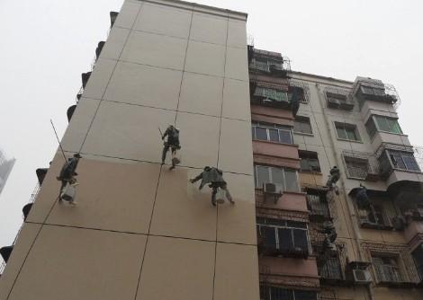宾馆外墙刷涂料 大厦外墙防腐 宾馆外墙刷涂料多少钱一平