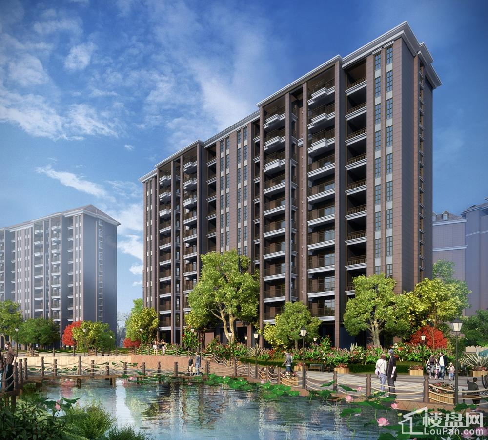 吉首吉盟天下二期十字单体建筑打造3D全景豪宅