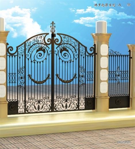 铁艺围墙护栏外栏杆 铁艺围墙护栏外栏杆庭院栏杆 铁艺围墙护栏外栏杆