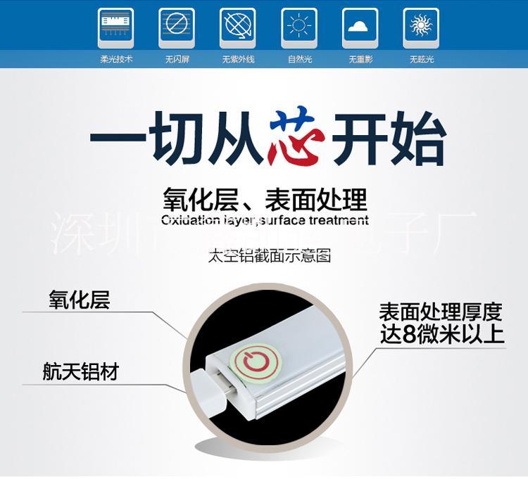 LED触摸感应灯 USB触摸感应LED灯 USB触摸感应LED灯无极调光灯