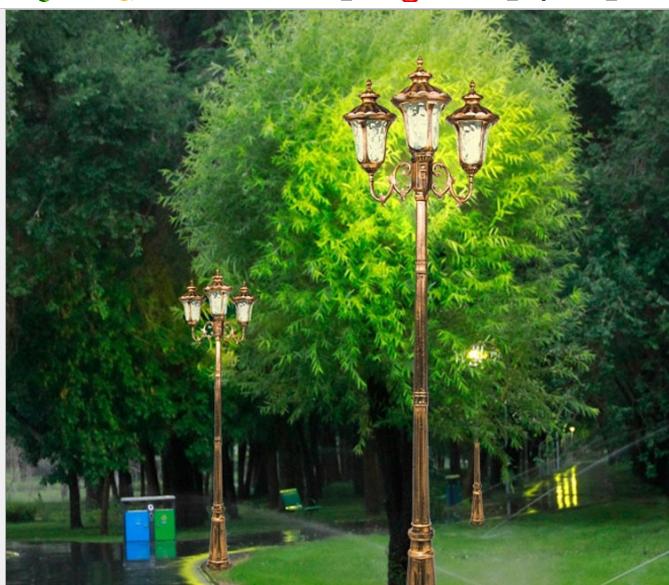 厂家直销酒店别墅led庭院灯户外壁灯 欧式铝管壁灯 防水防潮灯具