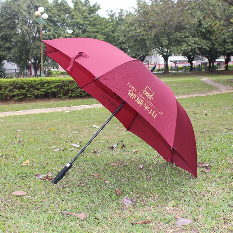 上海8K纤维防风直杆伞批发 广告伞生产厂家 礼品伞定做