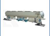 PE管材生产线设备聚乙烯给排水/燃气管材挤出成型生产流水线