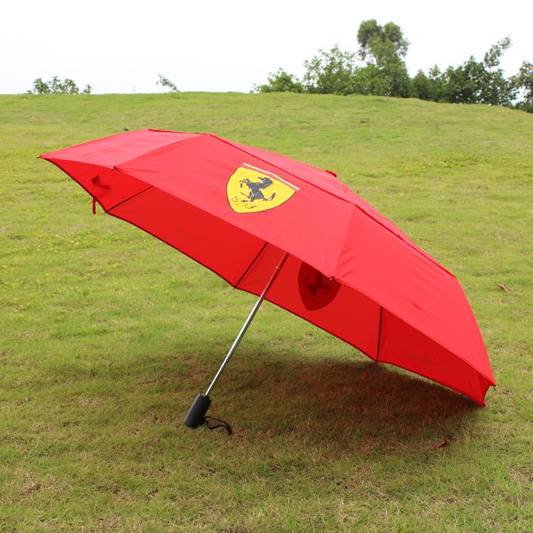 深圳双层折叠伞定制 太阳伞生产厂家 礼品伞订制LOGO 厂家直销三折伞