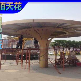 浙江包柱异形铝单板厂家图片