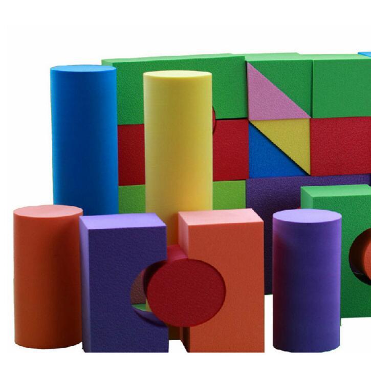超大号幼儿园游乐场EVA泡沫软积木最长30cm 斯尔福正 品