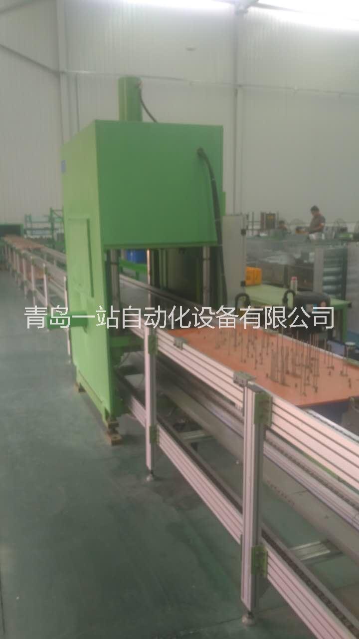 生产线与液压机组合集成自动化生产 潍坊液压机集成