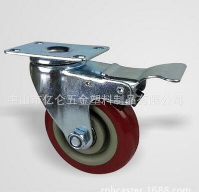 手推车脚轮图片/手推车脚轮样板图 (1)
