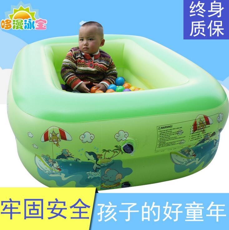 厂家供应儿童游泳池婴幼儿家庭成 人浴缸超大加厚小孩宝宝充气泳池