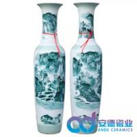 霸气威武陶瓷摆件,艺术收藏工艺品