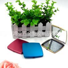 源头厂家批发时尚可定制logo化妆镜便携式随身玻璃镜活动赠品礼品小镜子批发
