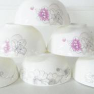 高档晶骨瓷碗碟礼品图片