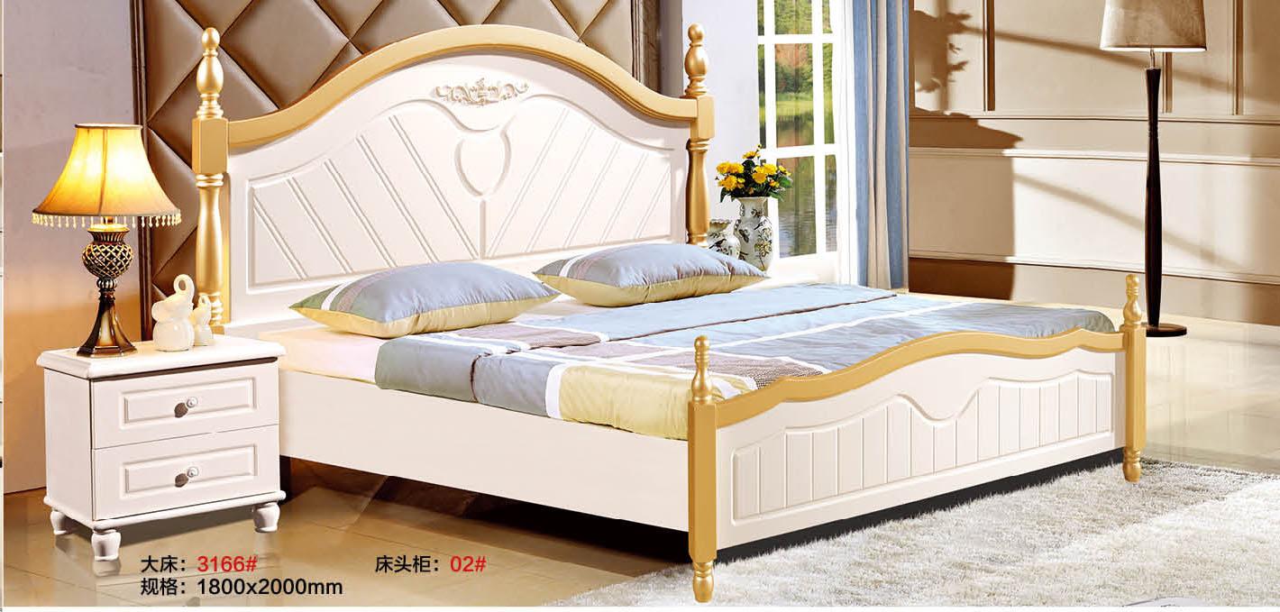 双人床 简约1.8双人床 欧式双人床 1.8双人床组合