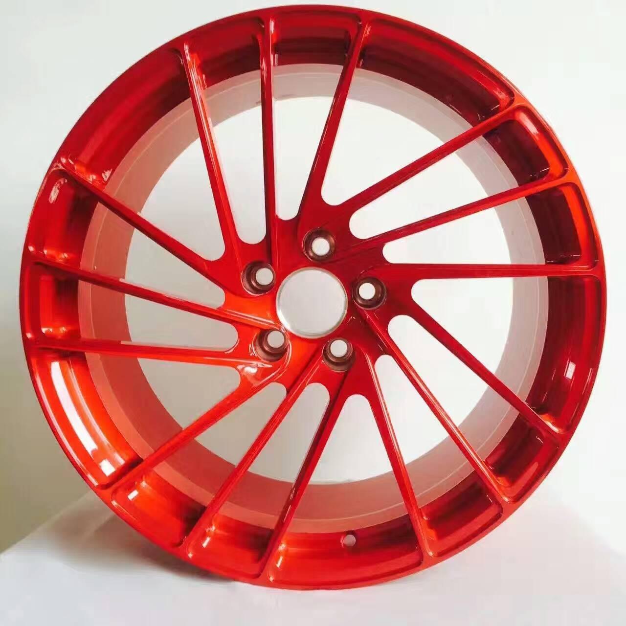 兰博基尼订制改装锻造铝轮毂