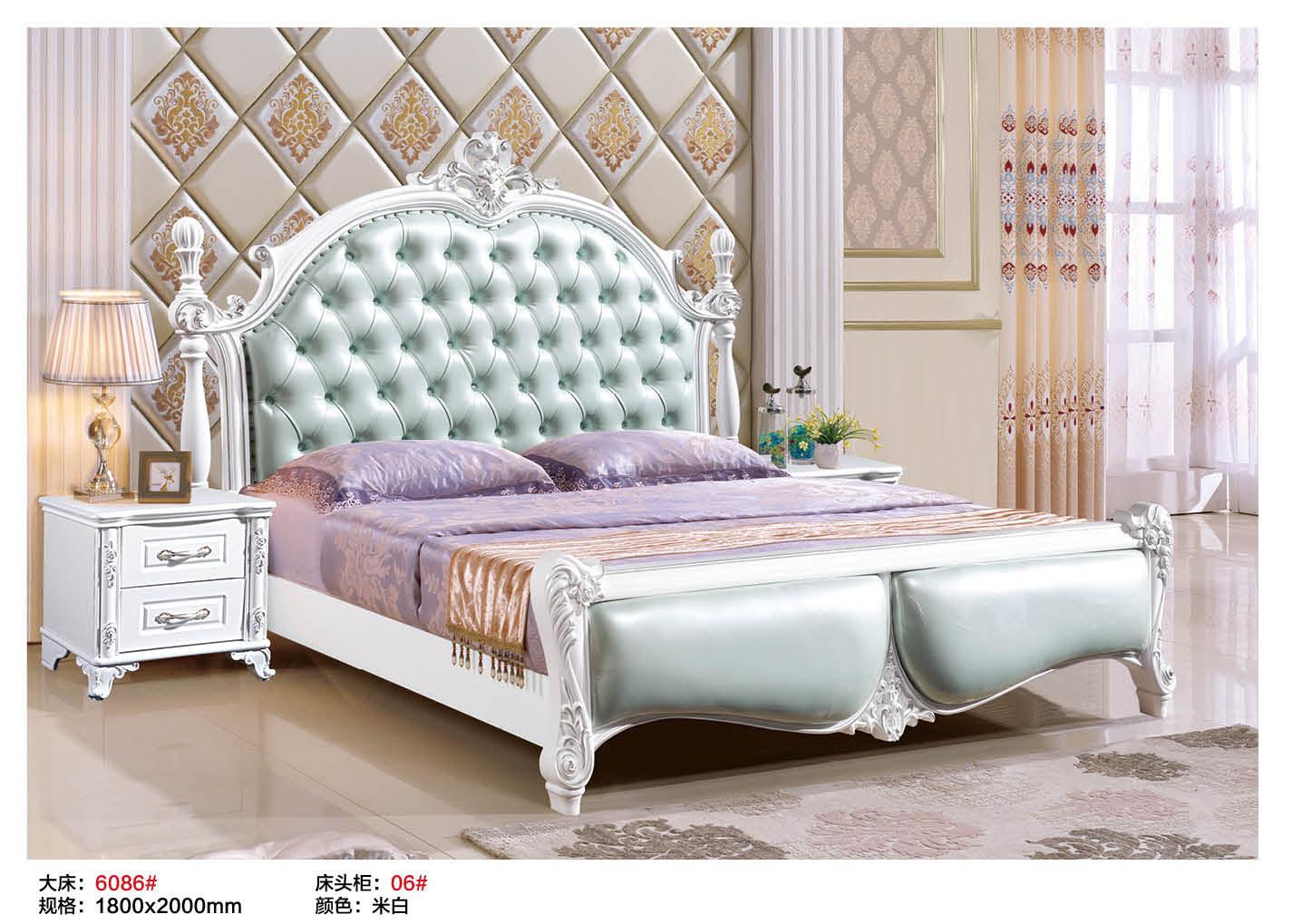 成套欧式家具套装组合卧室法式整套家用套房板木结合套房四六件套