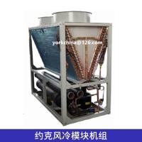 约克风冷模块机组中央空调工程模块式风冷冷水/空气源热泵机组