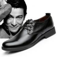 价透气鞋韩版英伦西装男鞋图片