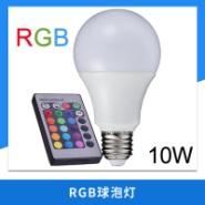 RGB球泡灯图片