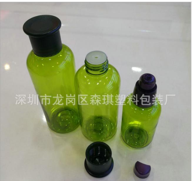 厂家供应 80ML化妆品PET乳液瓶 精油瓶 爽肤水瓶 化妆品瓶