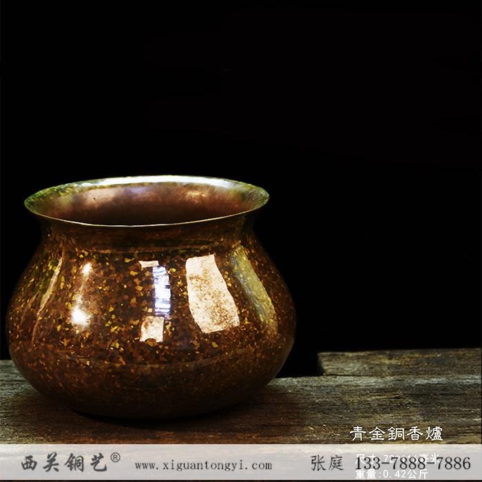 斑铜工艺品 斑铜香炉 斑铜摆件 斑铜工艺厂家