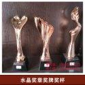 水晶奖章奖牌奖杯图片