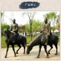 小区铜雕塑厂图片