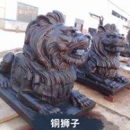 大铜狮子图片