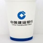 一次性广告纸杯定制logo图片