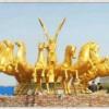 城市雕塑摆件图片