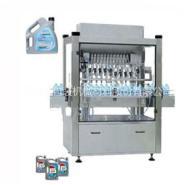 供气动液体灌装机 果汁饮料灌装机图片