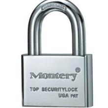 供应优质Montery牌P1001方体短钩叶片铜挂锁P1001方体铜挂锁批发