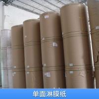 厂家直销pe单面淋膜纸 淋膜白塑纸 食品淋膜纸 白色包装淋膜纸
