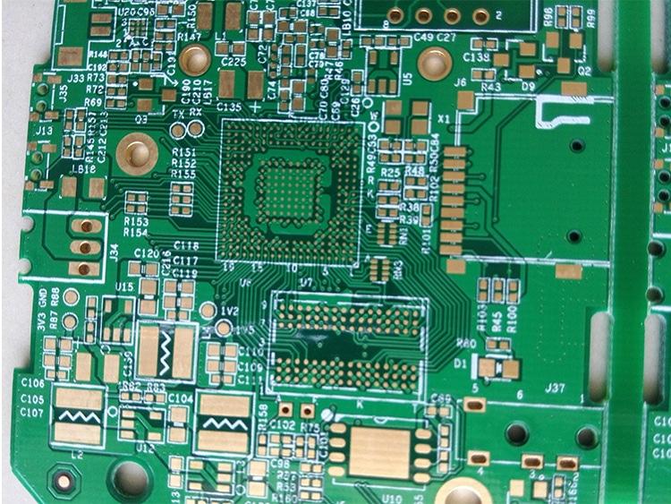 厂家直销双面沉金/电金板  FR4 PCB线路板  接受来图定制 双面镀金板 双面沉金板 双面板沉金