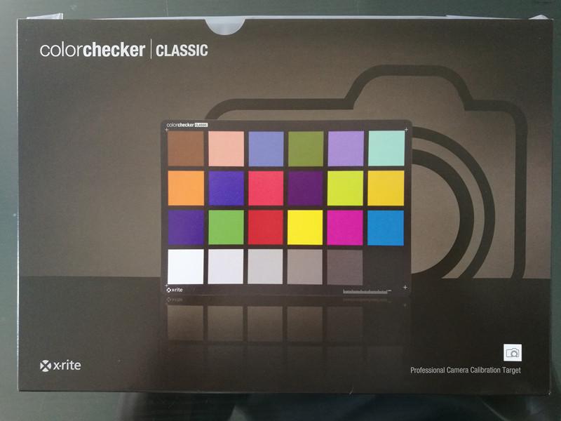 美国原装进口X-rite爱色丽ColorChecker 24色色卡 专业校色卡