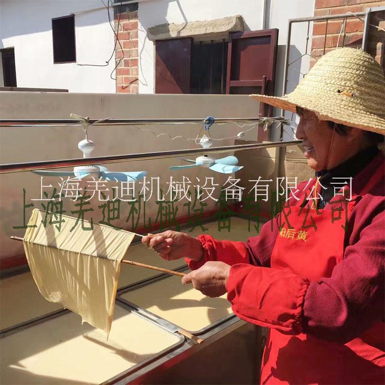 豆腐衣腐竹机上海厂家直销 饭店农家乐热卖产品