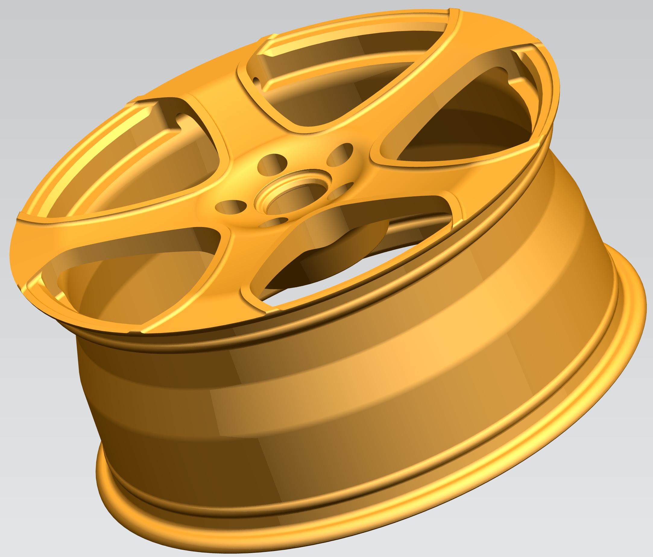 阿斯顿马丁锻造镁铝车轮