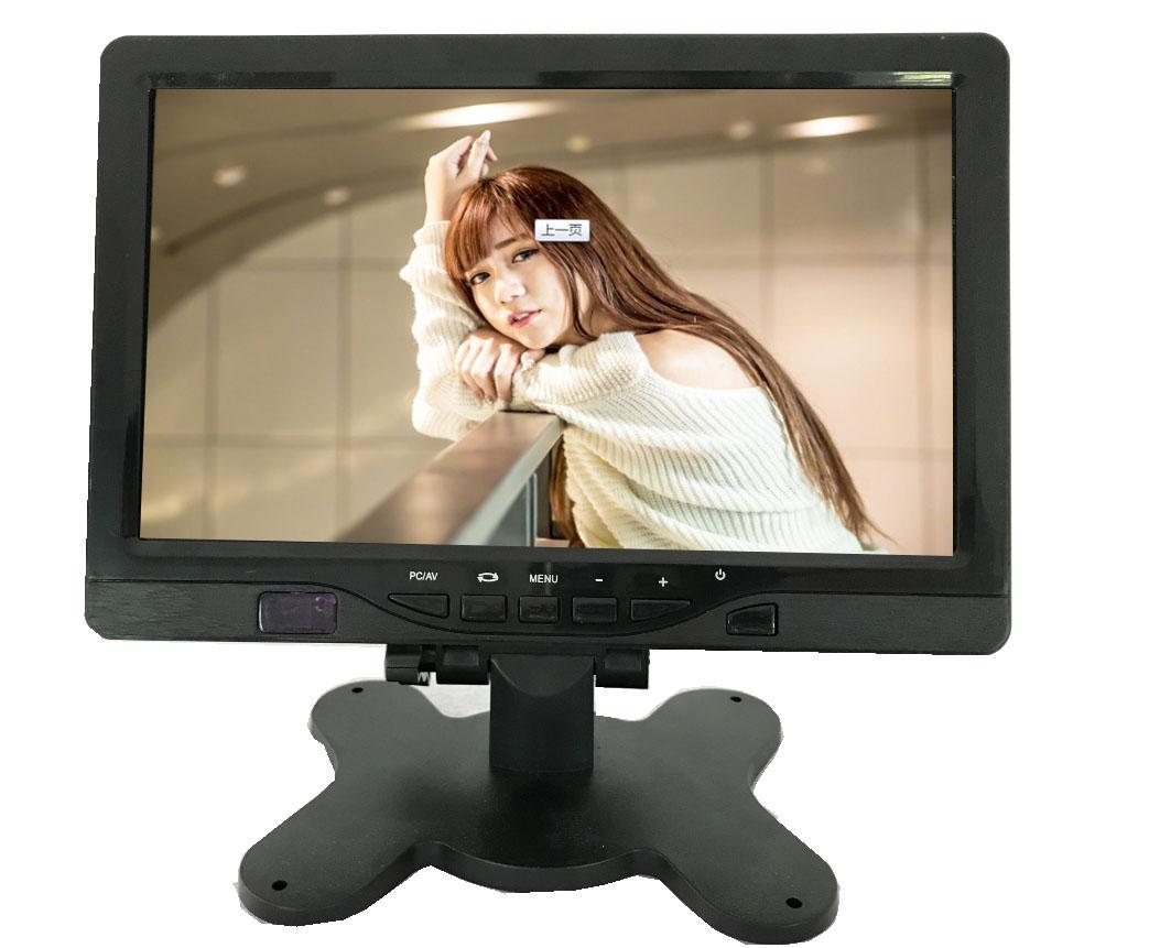 7寸高清安防监控监视器 7寸车载安防监控监视器